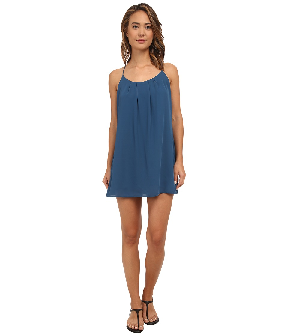 Lucy Love Take Me To Dinner Dress (Pacific Blue) Women's Dress
