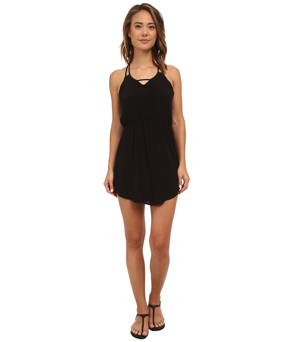 Lucy Love - Casa Blanca Dress (Black) Women's Dress