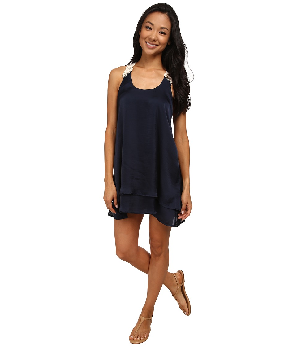 Lucy Love - Shore Club Dress (Ink) Women's Dress