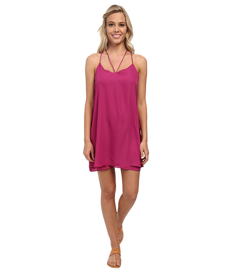 Lucy Love - Ask Me Out Dress (Razz) Women's Dress