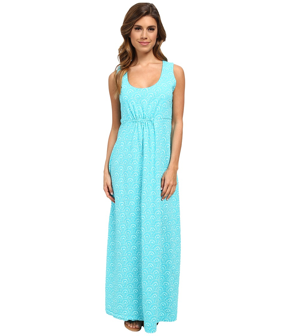 Fresh Produce - Fanfare Bayside Maxi Dress (Luna Turquoise) Women
