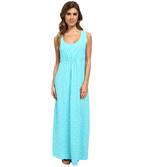Fresh Produce - Fanfare Bayside Maxi Dress (Luna Turquoise) Women's Dress