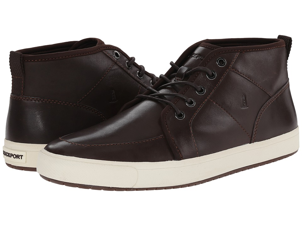 Rockport Path To Greatness Mid Boot (Dark Bitter Chocolate) Men