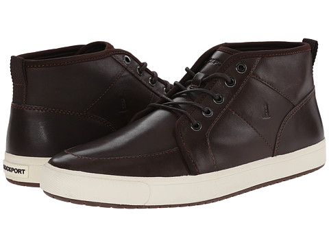 Rockport - Path To Greatness Mid Boot (Dark Bitter Chocolate) Men's Lace-up Boots