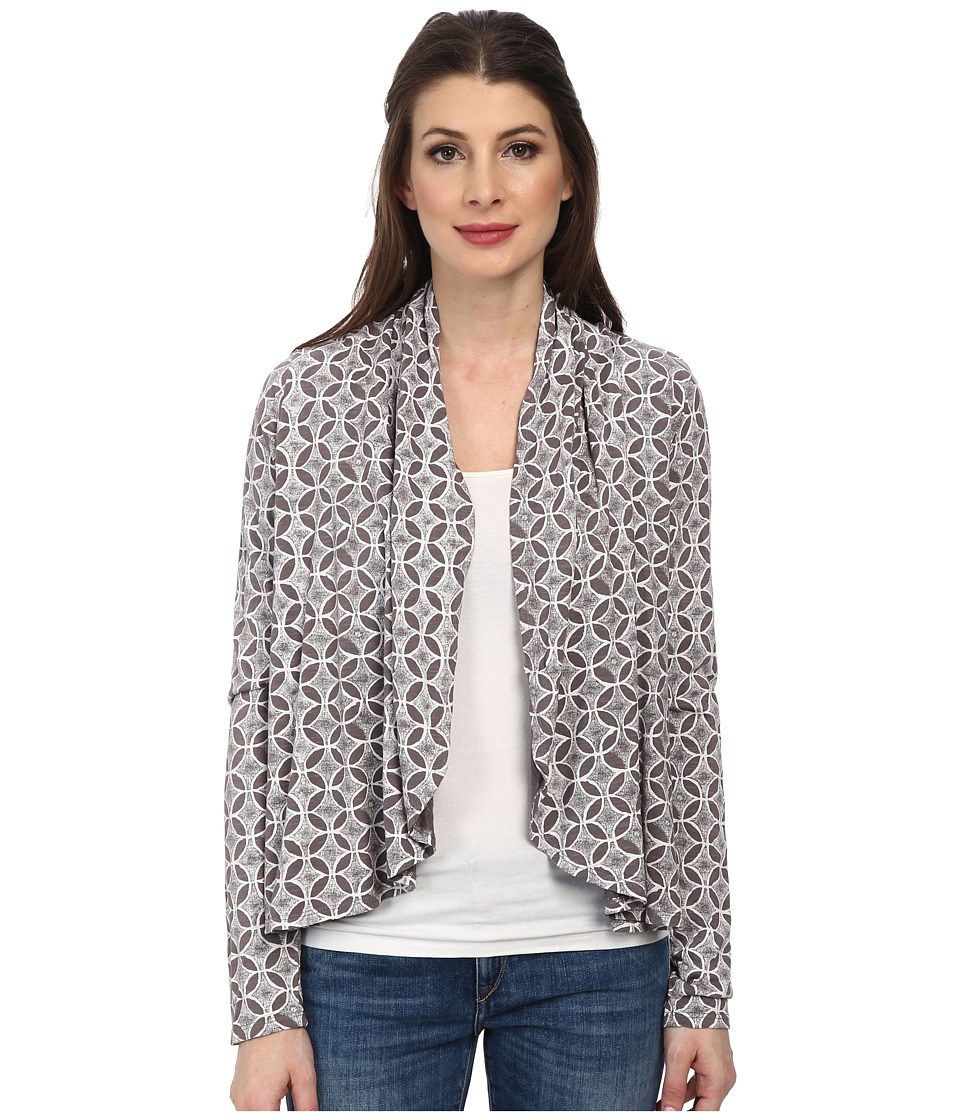 Fresh Produce - Circle Coast Bliss Cardigan (Grey Smoke) Women
