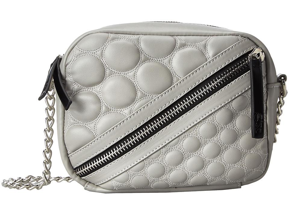 Gx By Gwen Stefani Ilka Grey Shoulder Handbags