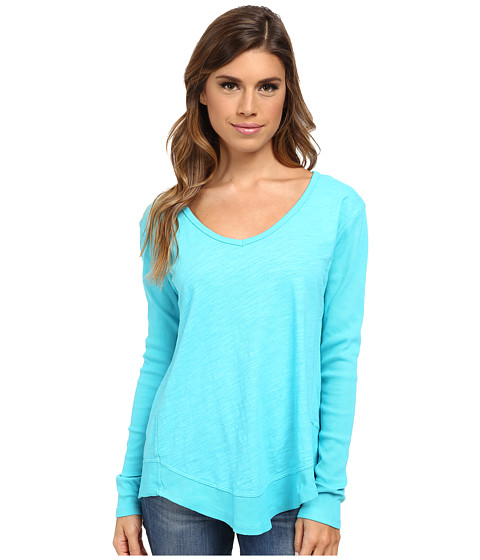 Fresh Produce - Hilton Head Top (Luna Turquoise) Women's Clothing