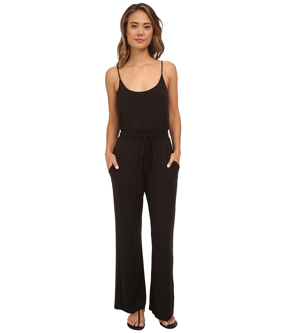Lucy Love - Riley Jumpsuit (Black) Women's Jumpsuit & Rompers One Piece