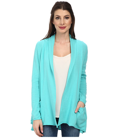 Fresh Produce - Vineyard Cardigan (Turquoise) Women