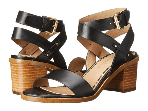 Splendid - Kayman (Black Grecian Leather) Women's Sandals