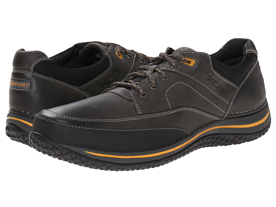 Rockport - Walk360 Walking Mudguard Oxford (Castlerock/Yellow) Men's Shoes