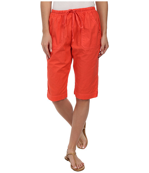 Fresh Produce - Park Avenue Pedal Pusher (Red Coral) Women's Shorts