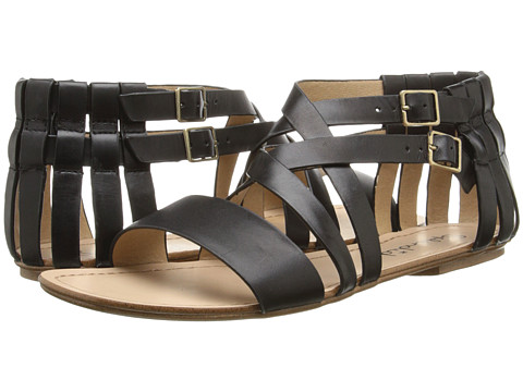 Splendid - Talia (Black Grecian Leather) Women's Sandals