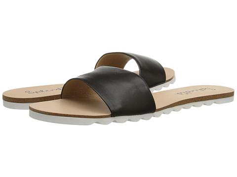 Splendid - Paige (Black Leather) Women's Shoes