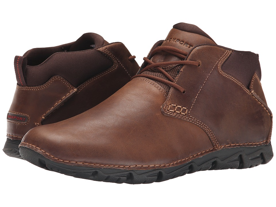 Rockport RocSports Lite 2 Chukka (Tan 2) Men