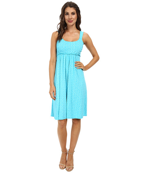 Fresh Produce - Circle Coast Impromptu Dress (Luna Turquoise) Women's Dress
