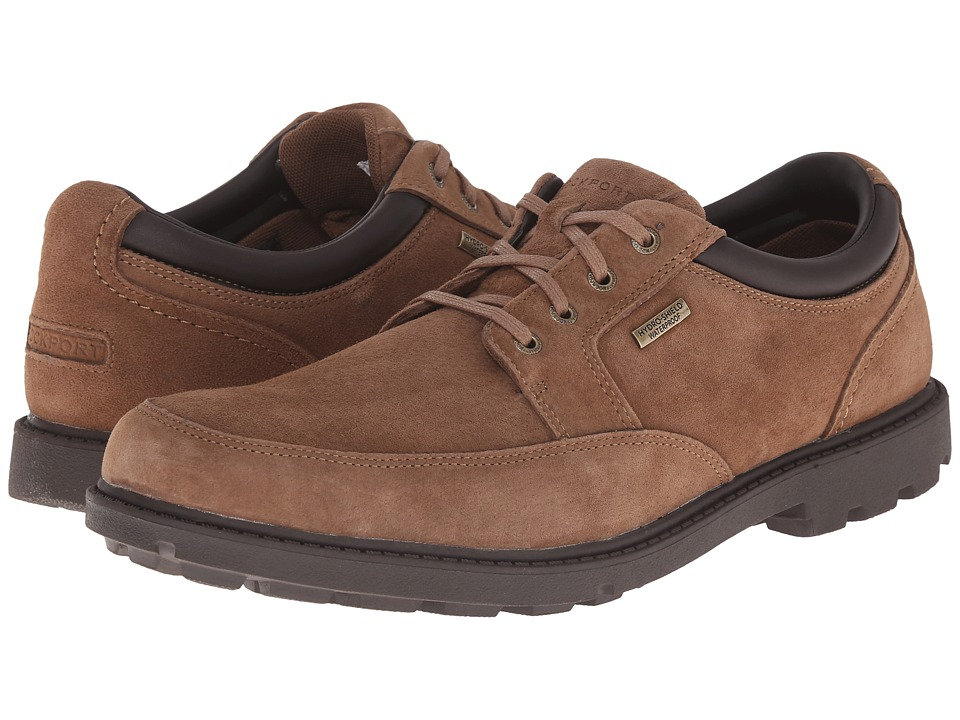 Rockport - Rugged Bucks Waterproof Mudguard (Espresso Nubuck) Men