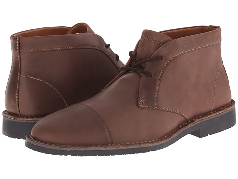 Rockport - Trend Worthy Chukka (Dark Brown) Men