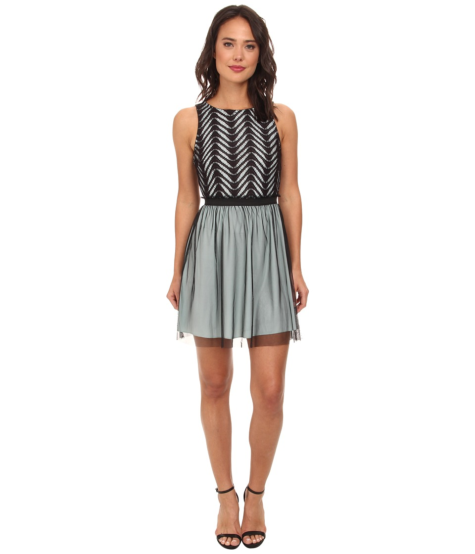 Gabriella Rocha - Jamie Lace Tulle Dress (Dusty Blue) Women's Dress