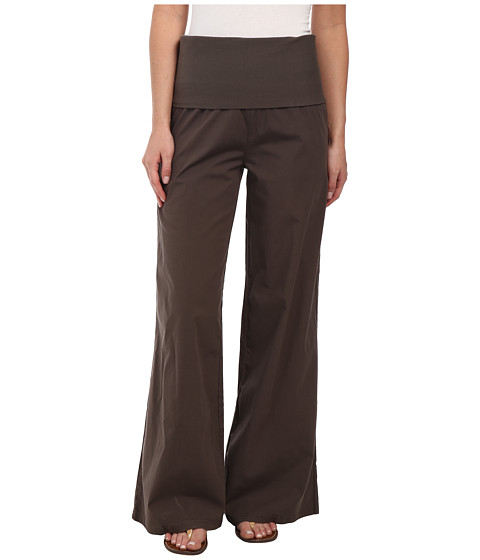 XCVI - Fold-Over Palazzo (Alfalfa) Women's Casual Pants