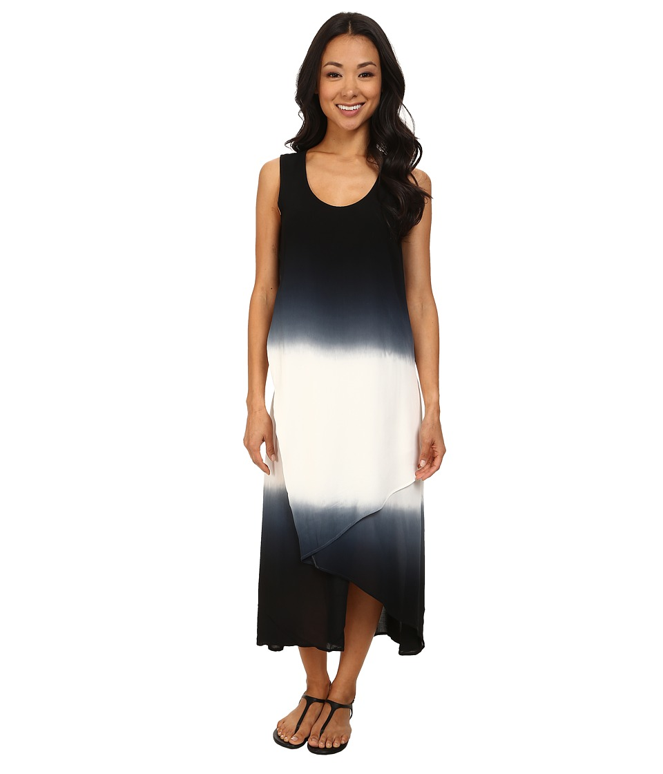 XCVI - Snapdragon Dress (Ombre Double Dip Black) Women's Dress