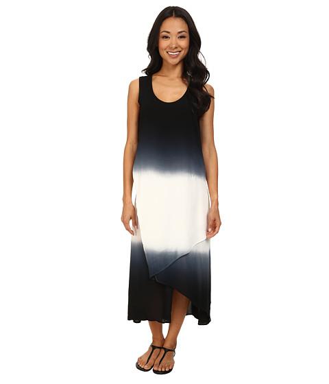 XCVI - Snapdragon Dress (Ombre Double Dip Black) Women