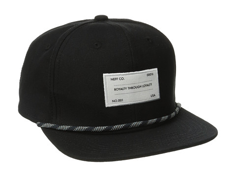 Neff - RTL Snapback (Black) Caps