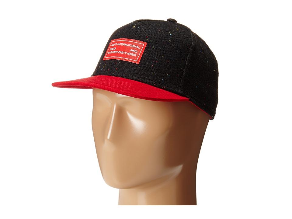 Neff - LFPH Snapback (Black) Caps