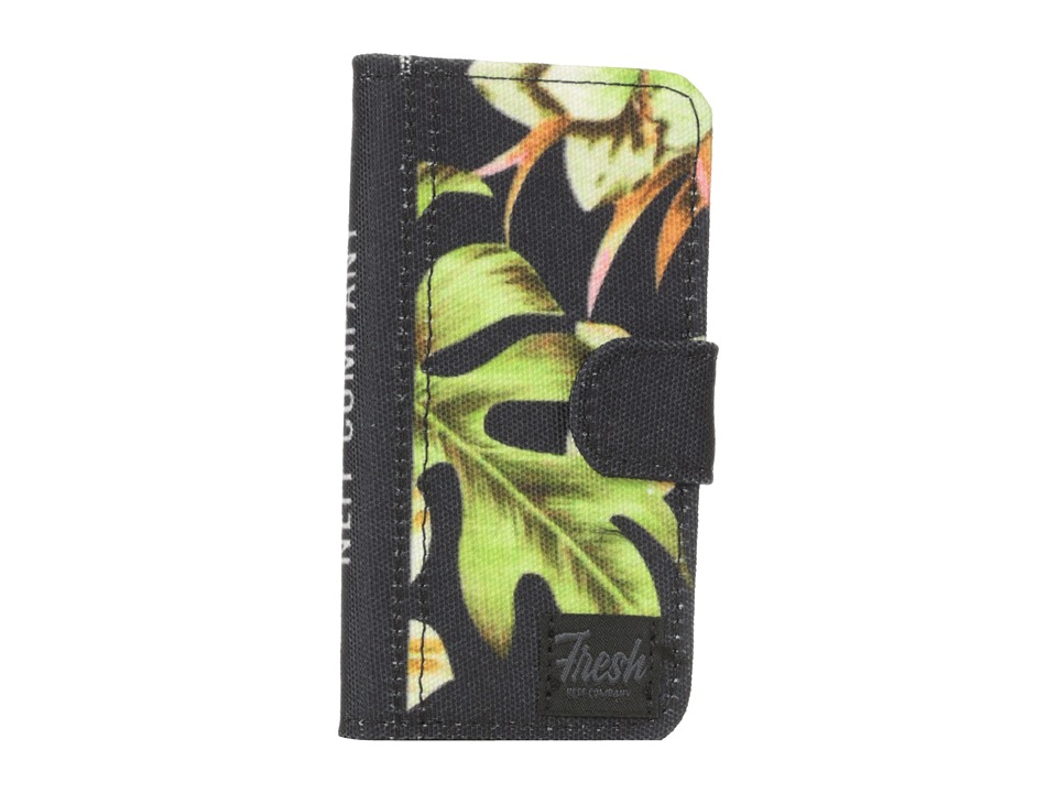 Neff - Phone Wallet For IP5 (Floral) Wallet Handbags