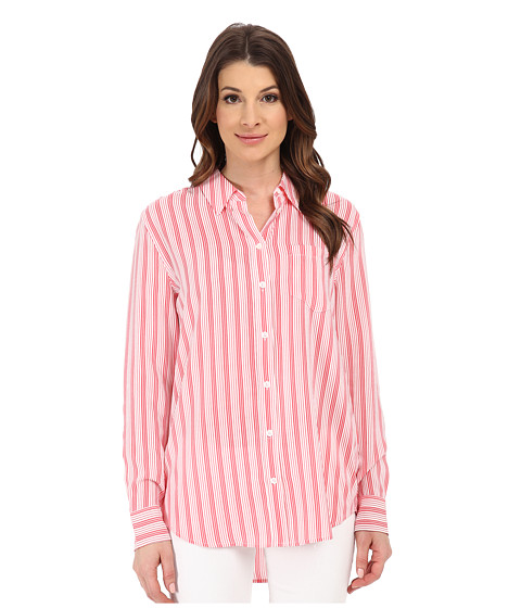 EQUIPMENT - Reese Top (Sunkissed) Women's Long Sleeve Button Up
