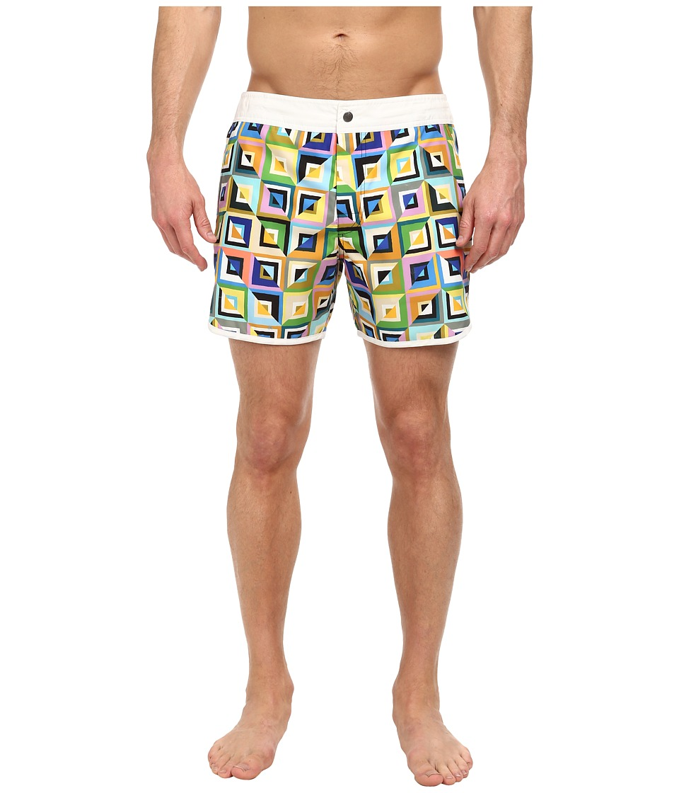 Mr.Turk - Surfside Beach Shorts (Multi) Men's Swimwear