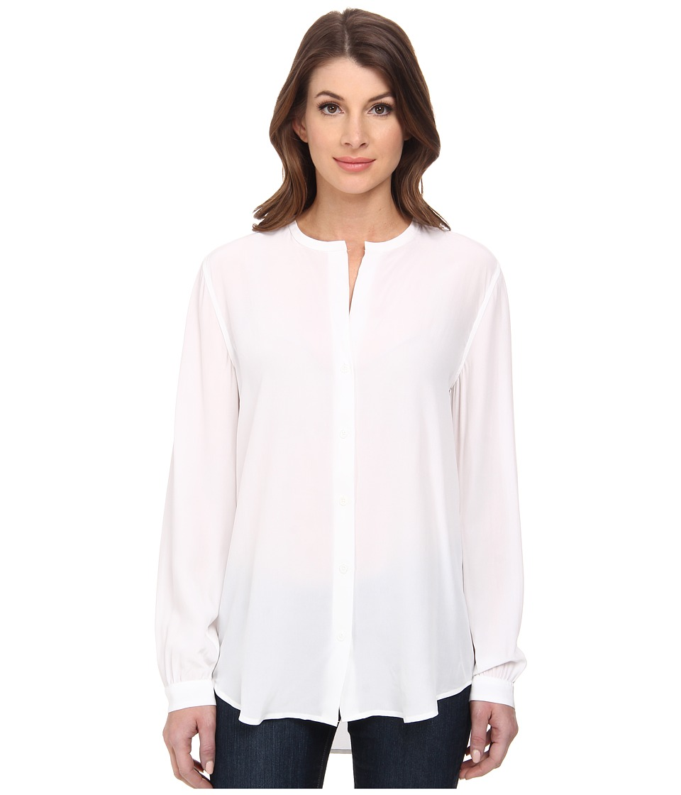 EQUIPMENT - Faye (Bright White) Women's Long Sleeve Button Up
