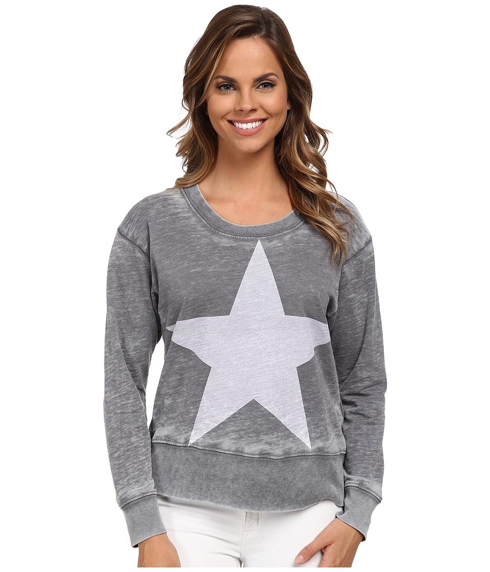 Allen Allen - Star Sweatshirt (Flint) Women's Sweatshirt
