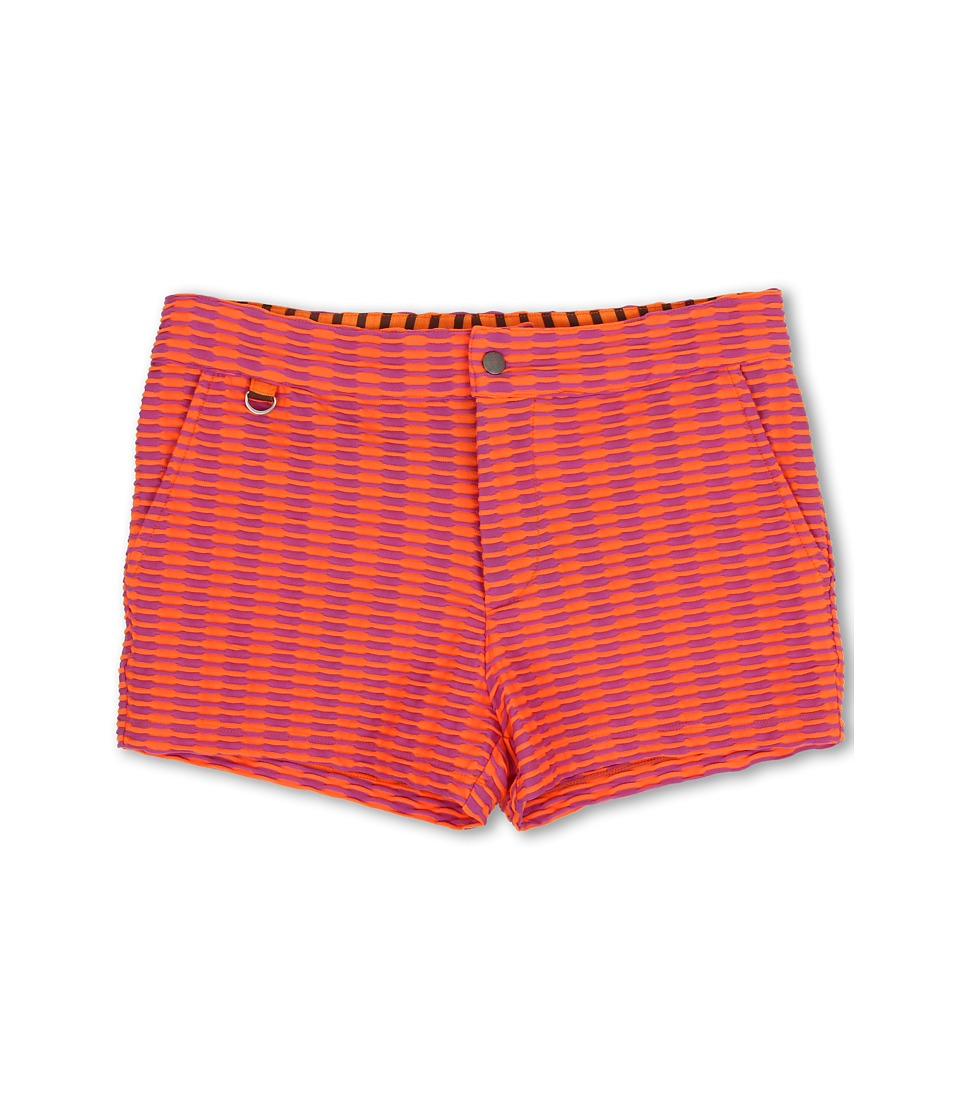 Mr.Turk - Kent Swim Trunks (Orange) Men's Swimwear