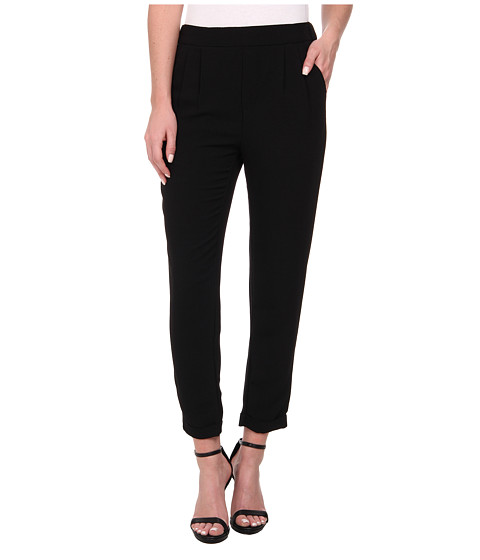ONLY - Rita Loose Crop Pants (Black) Women's Casual Pants