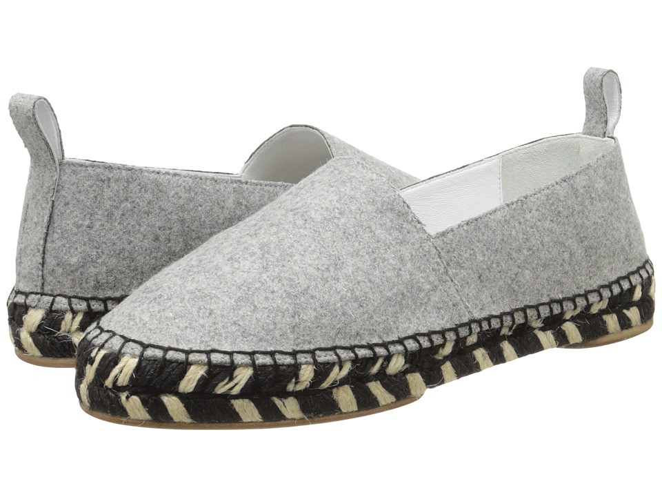 Proenza Schouler - Fabric Espadrille (Grey) Women's Slippers