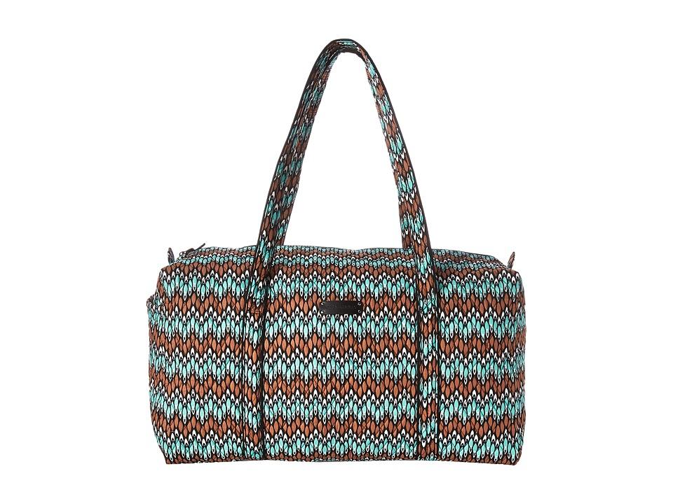 Vera Bradley - Large Duffel (Sierra Stream) Duffel Bags