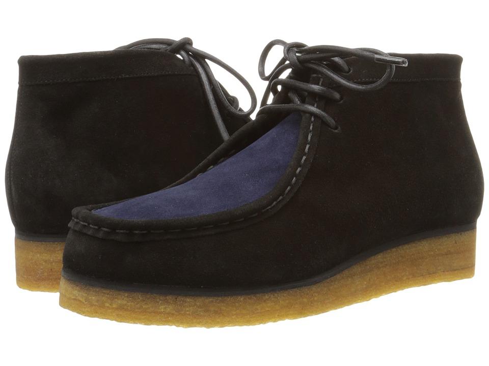 Proenza Schouler - Indian Bootie (Black) Women's Lace-up Boots