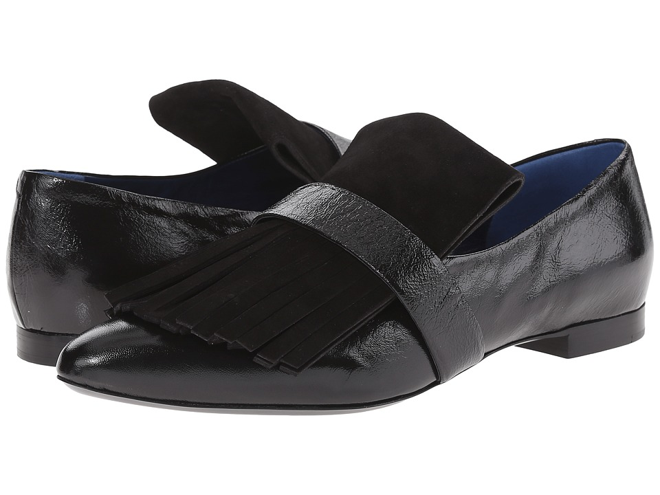 Proenza Schouler Fringe Slipper (Black) Women