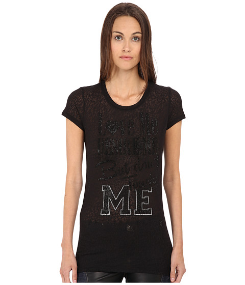Philipp Plein - Love Me T-Shirt (Black) Women's T Shirt
