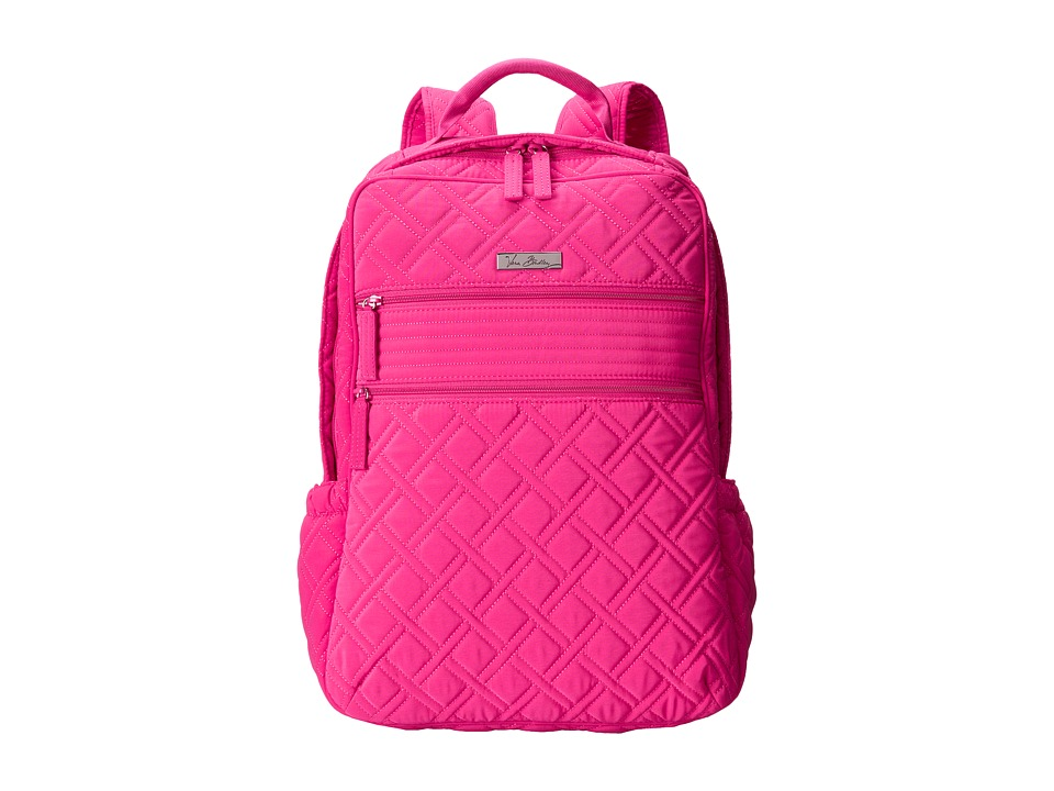 Vera Bradley - Tech Backpack (Fuchsia) Backpack Bags