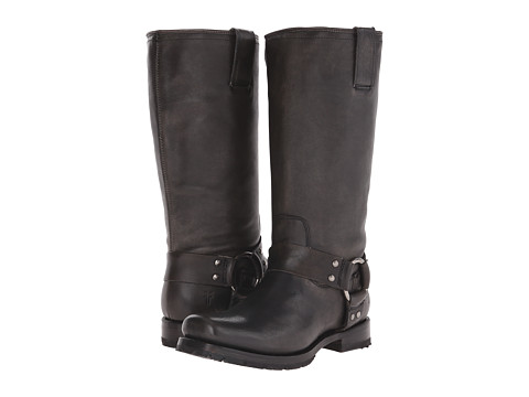 Frye - Heath Harness (Black Calf Shine Vintage) Women