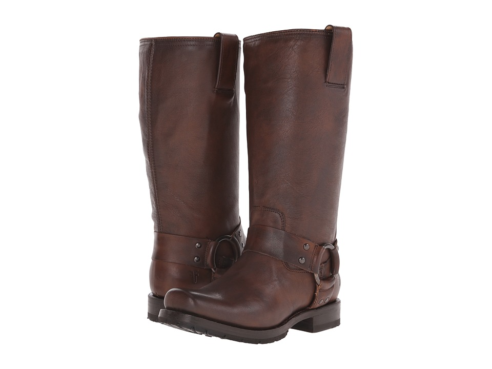 Frye Heath Harness (Maple Calf Shine Vintage) Women
