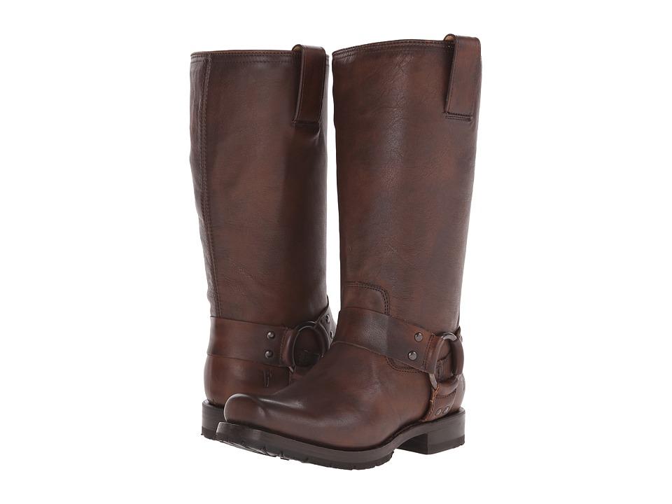 Frye - Heath Harness (Maple Calf Shine Vintage) Women's Boots