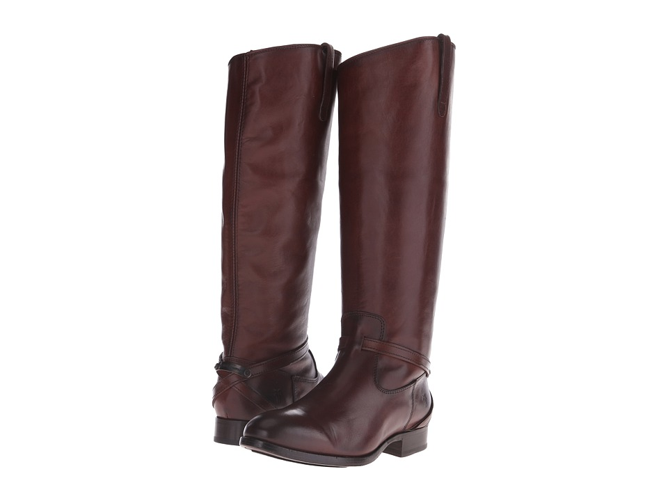 Frye - Lindsay Plate (Redwood Smooth Vintage Leather) Women's Boots