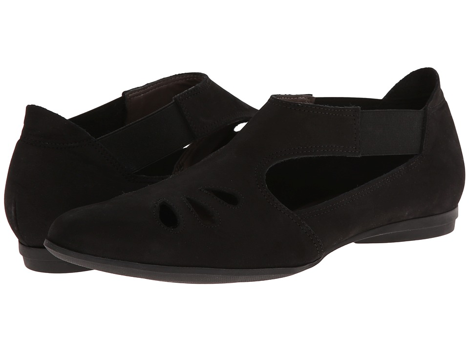 Sesto Meucci - Audie (Black Nabuk) Women's Shoes