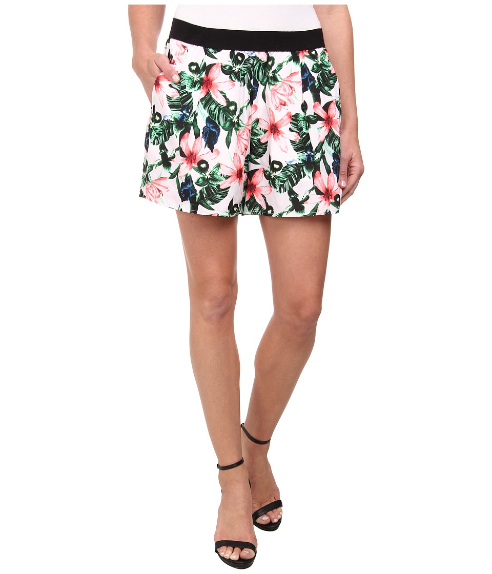 Vince Camuto - Jungle Lily Pull-On Shorts (Ultra White) Women's Shorts