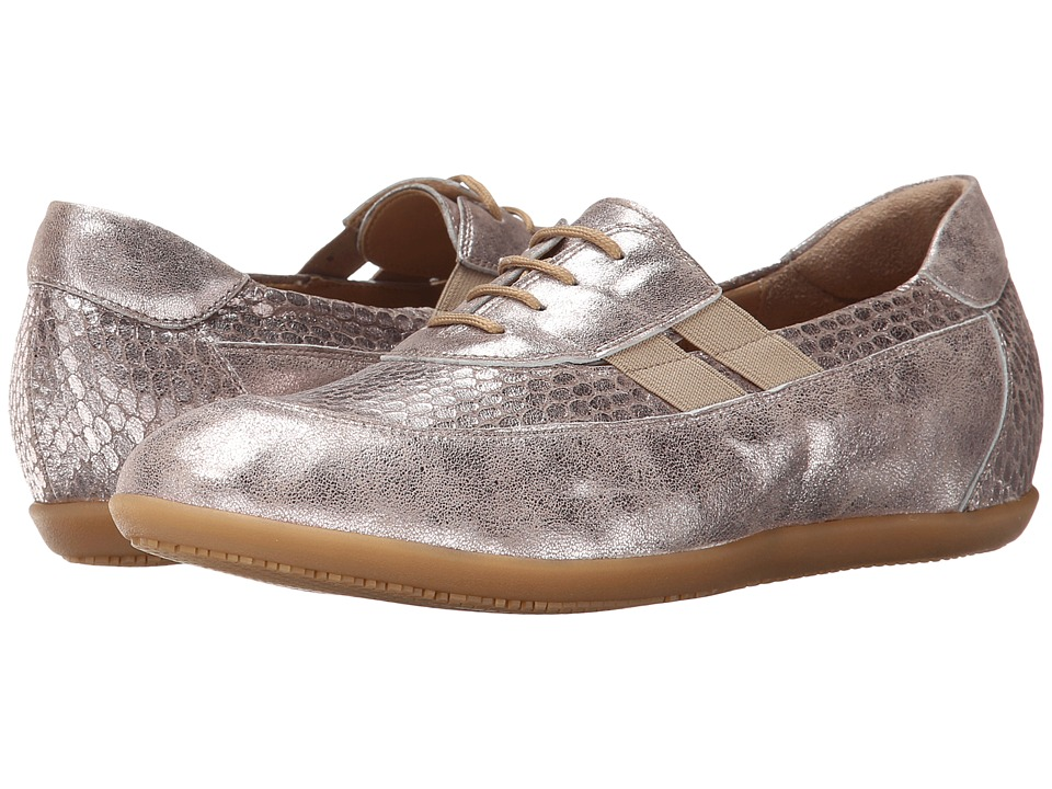Sesto Meucci - Halina (Light Taupe Kangra Print/Light Taupe Retro) Women's Lace up casual Shoes
