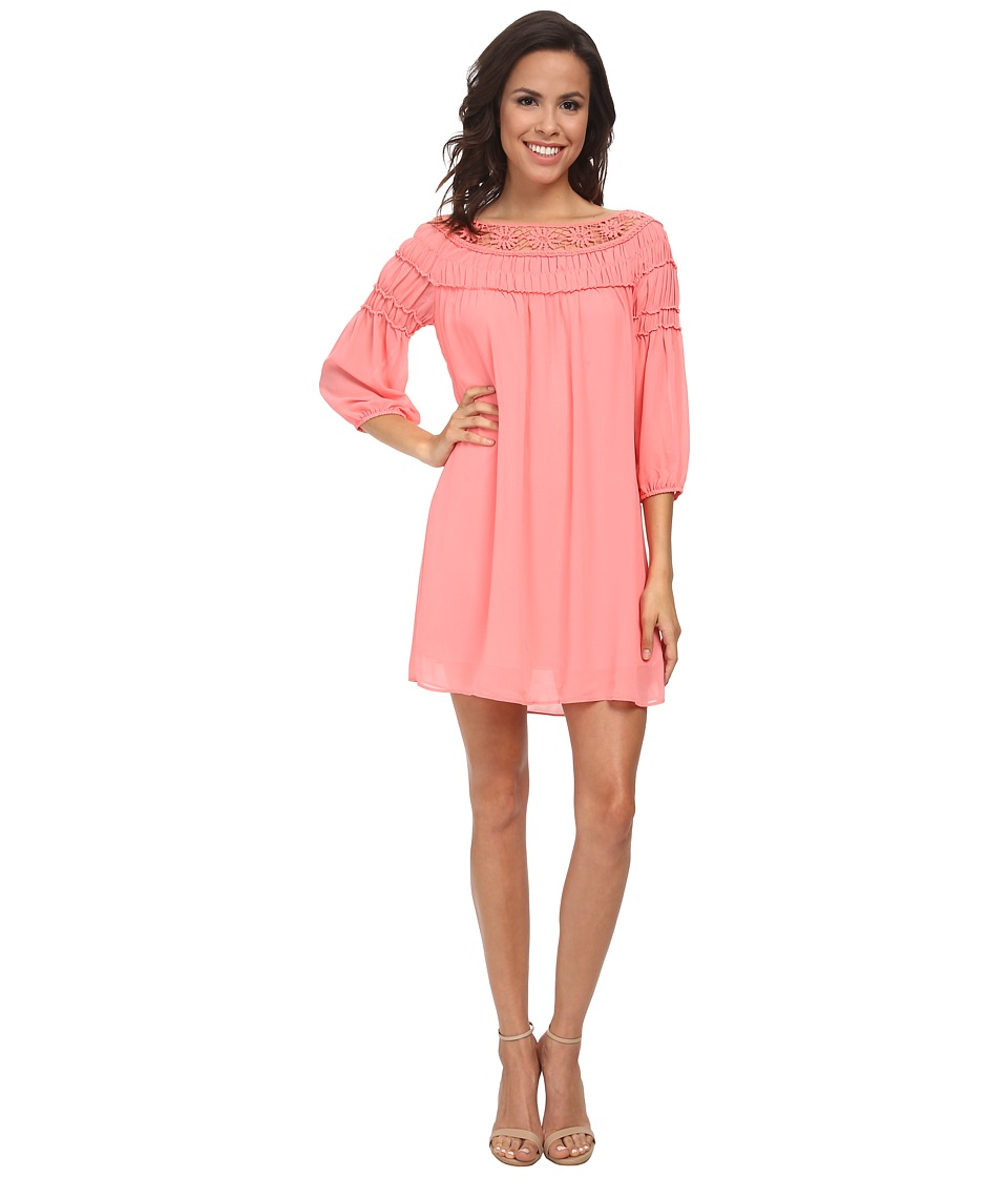 Gabriella Rocha - Delmon Shift Dress (Salmon Rose) Women