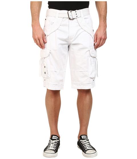 Request - Jonah Cargo Shorts (White) Men
